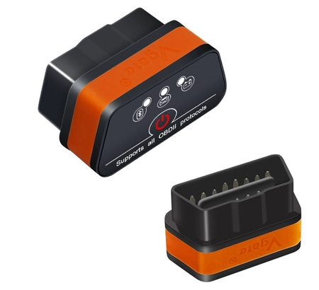 Interfejs iCar2 Bluetooth OBDII ELM327 Vgate Orange (23)