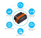 Interfejs iCar2 Bluetooth OBDII ELM327 Vgate Orange (16)