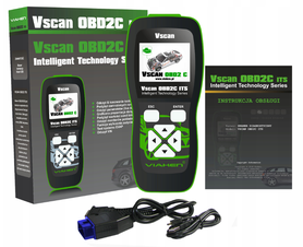 Skaner Diagnostyczny Tester Vscan OBD2C ITS CAN UDS